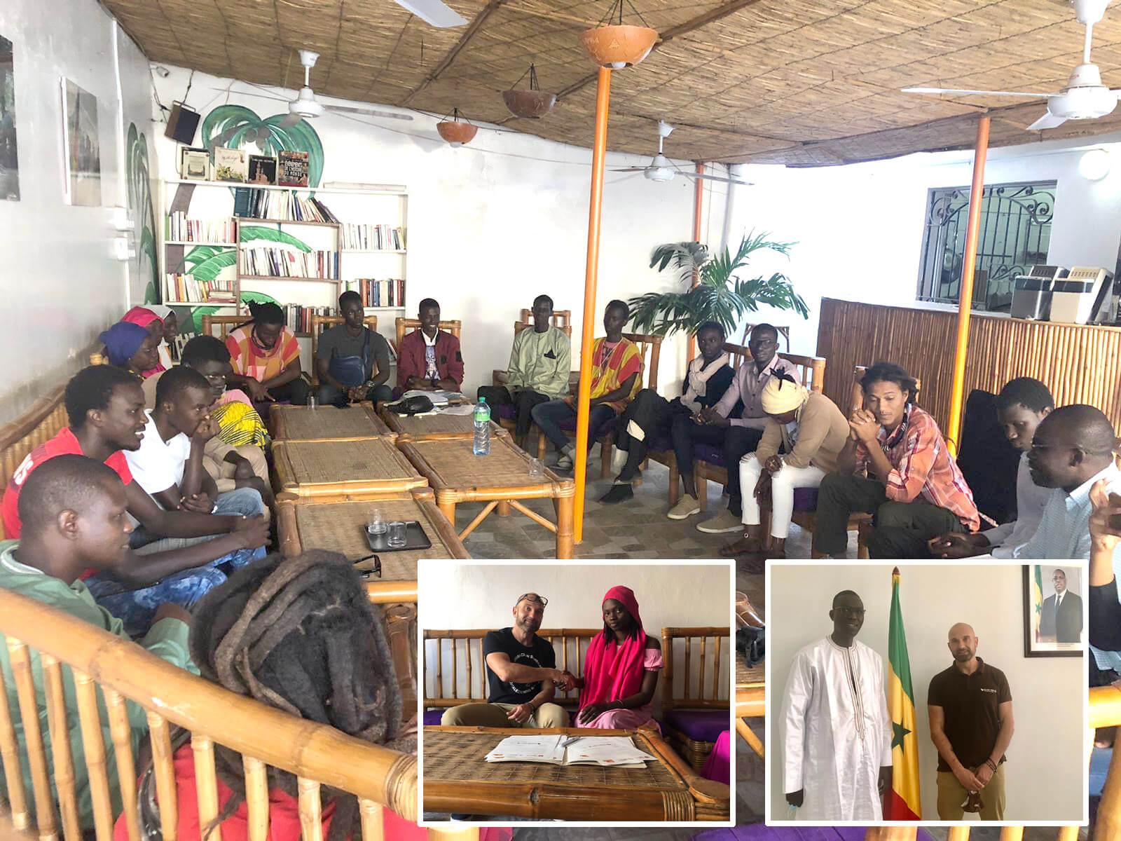 Gracias a cuidar tu sonrisa con nosotros, Formación Senegal avanza