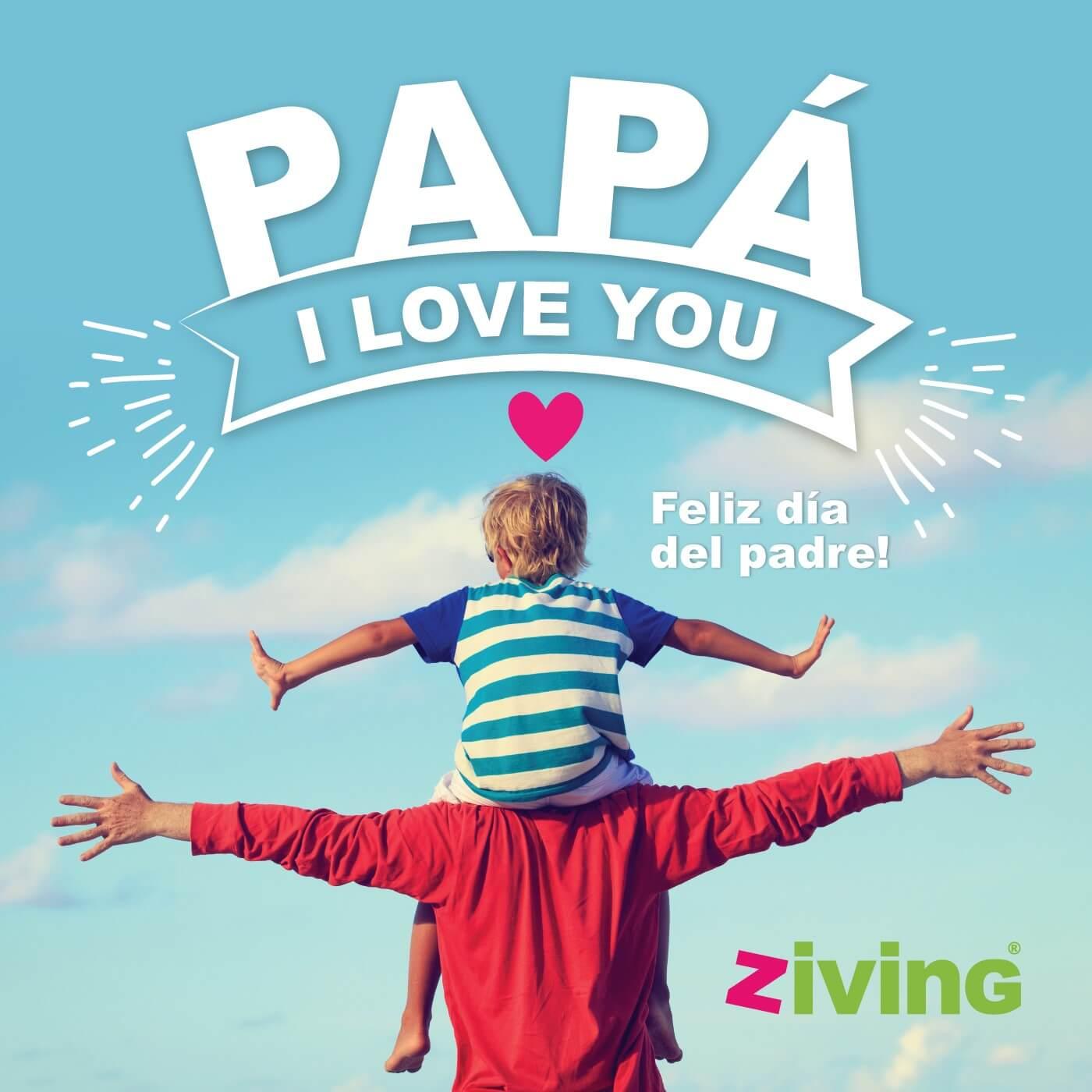 Nos hace muchísima ilusión celebrar un día como hoy: el día del padre, esa persona tan especial y única.